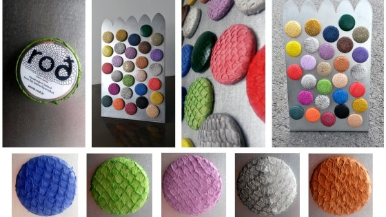 Fish leather magnets
